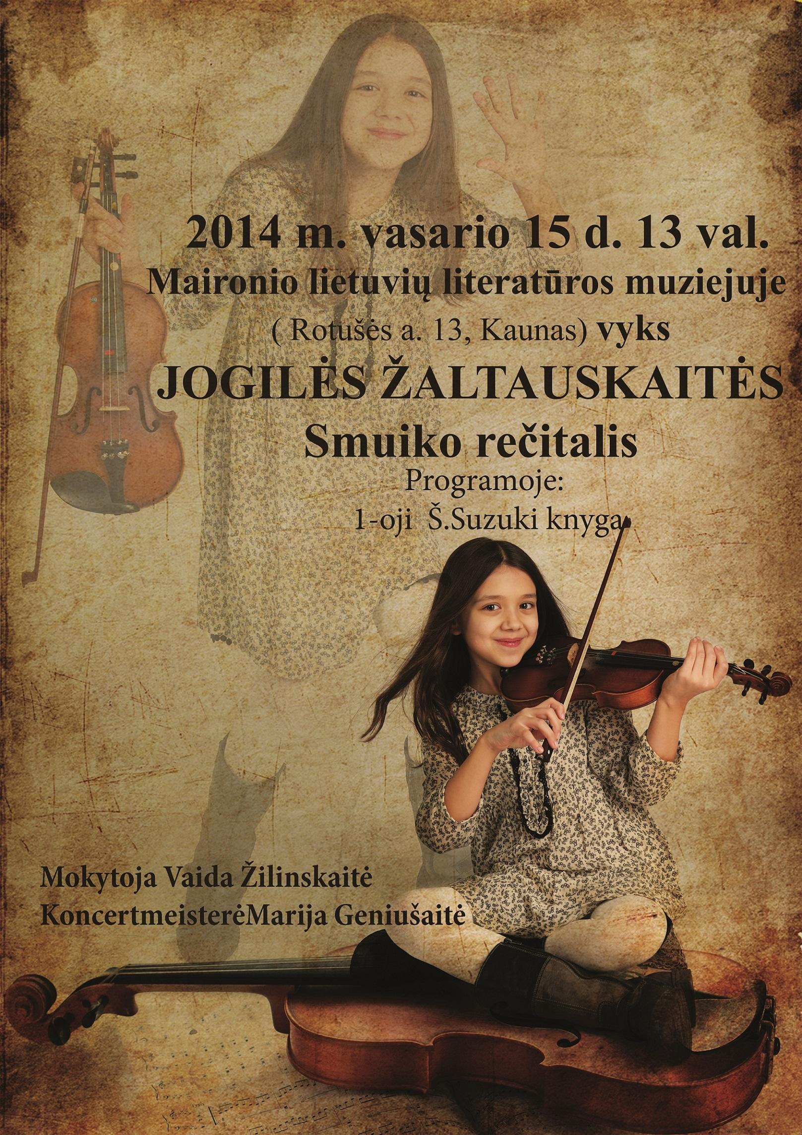 Jogiles-recitalis