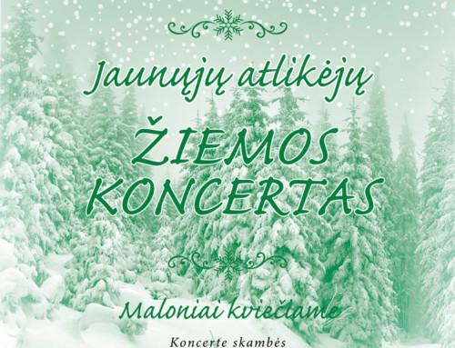 Jaunųjų atlikėjų žiemos koncertas