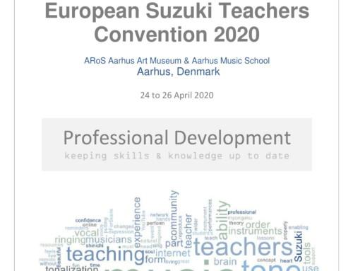 Europos Suzuki mokytojų konvencija 2020